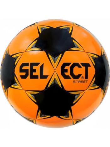 купить Мяч футбольный SELECT Street (048) оранж/черный, размер 5
