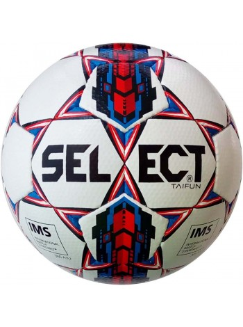 купить Мяч футбольный SELECT Taifun IMS (017) бел/красн, pазмер 5