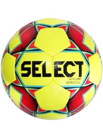 купить Мяч футбольный SELECT X-Turf Special (018) желт/красн р.4