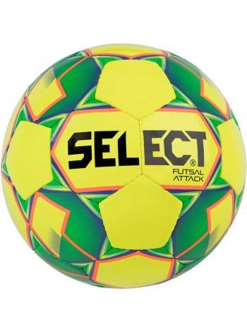 купить Мяч футзальный Select Futsal Attack NEW (024) желт/зел/shiny