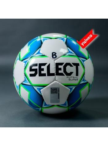 купить Мяч футзальный SELECT FUTSAL SUPER FIFA B-gr (без лого FIFA), (250) бело/синий