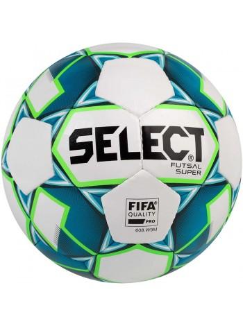 купить Мяч футзальный Select Futsal Super FIFA NEW (250) бел/син
