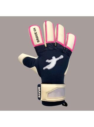 Перчатки вратарские BRAVE GK UNIQUE NAVY/PINK