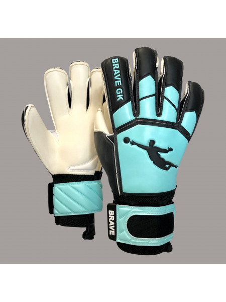 Перчатки вратарские BRAVE GK WINNER BLACK/TURQ