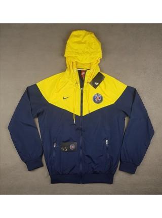 Ветровка ПСЖ желто-синяя
