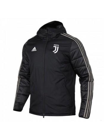 купить Зимняя куртка Ювентус черная