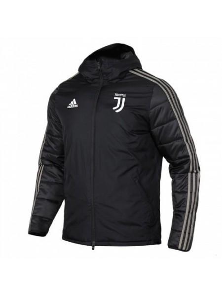 Зимняя куртка Ювентус черная