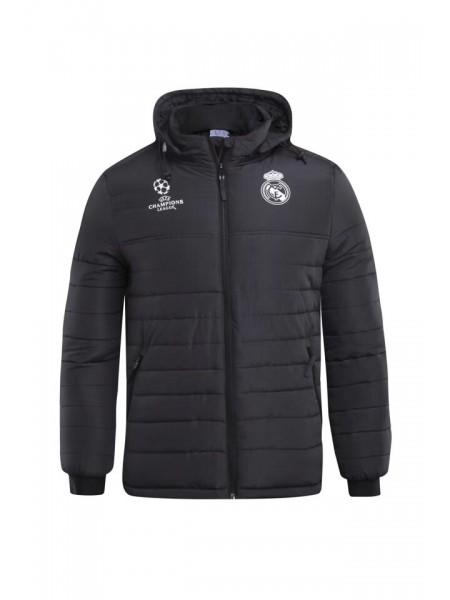 Зимняя куртка Реал Мадрид черная